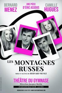 Affiche Les montagnes russes - Théâtre du Gymnase