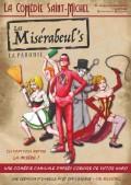 Affiche Les Misérabeul's - Comédie Saint-Michel