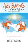 Affiche Les évadés du paradis - Théo Théâtre