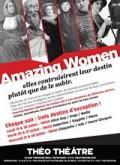 Affiche Amazing women - Théo Théâtre