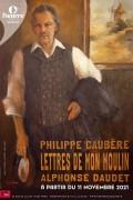 Affiche Philippe Caubère - Lettres de mon moulin - Théâtre de l'Œuvre