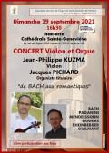 Jean-Philippe Kuzma et Jacques Pichard en concert