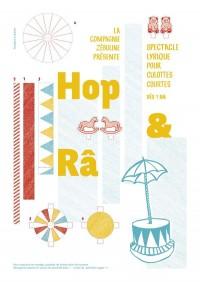 Affiche Hop & Râ - Aktéon Théâtre