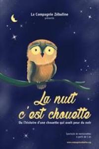 Affiche La nuit c'est chouette - Aktéon Théâtre