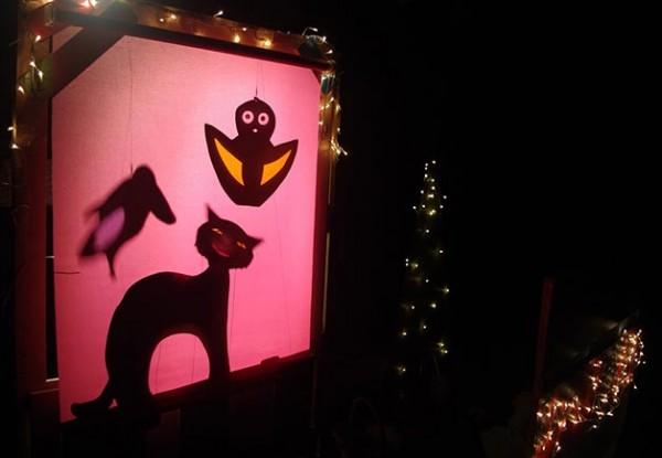La nuit c''est chouette : des animaux en ombre chinoise