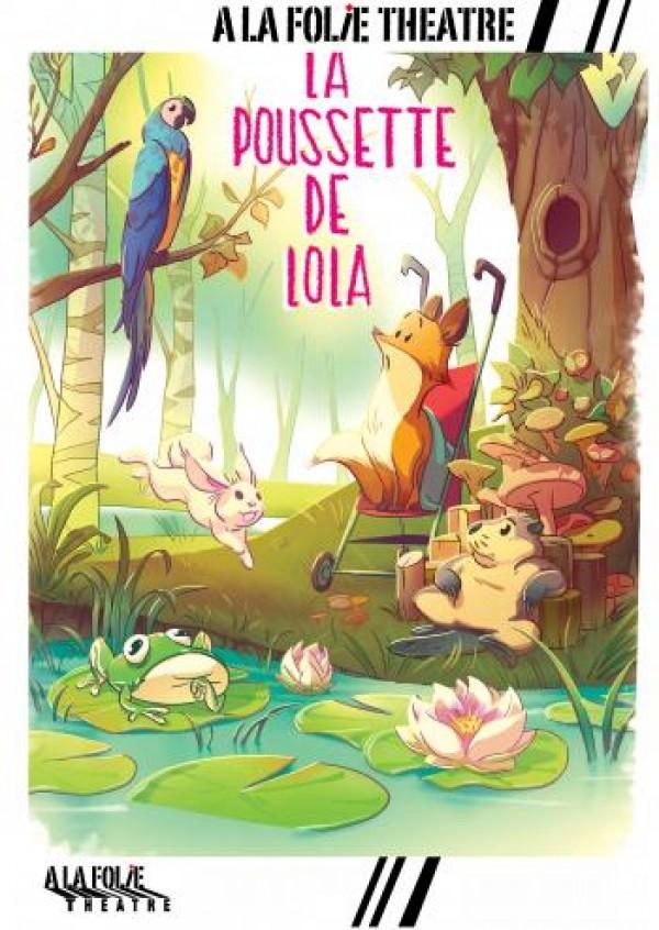 Affiche La poussette de Lola - À la Folie Théâtre