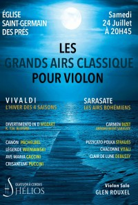 Orchestre Hélios et Glen Rouxel en concert