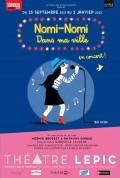 Affiche Nomi-Nomi - Dans ma ville - Théâtre Lepic
