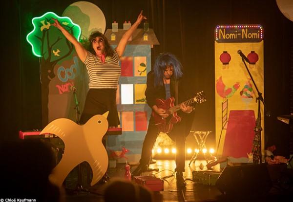 Nomi-Nomi - Dans ma ville : euphorie sur scène