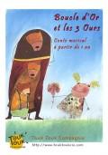 Affiche Boucle d'Or et les 3 ours - Aktéon Théâtre