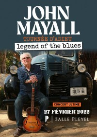 John Mayall salle Pleyel