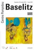 Affiche de l'exposition Georg Baselitz, La rétrospective au Centre Georges-Pompidou
