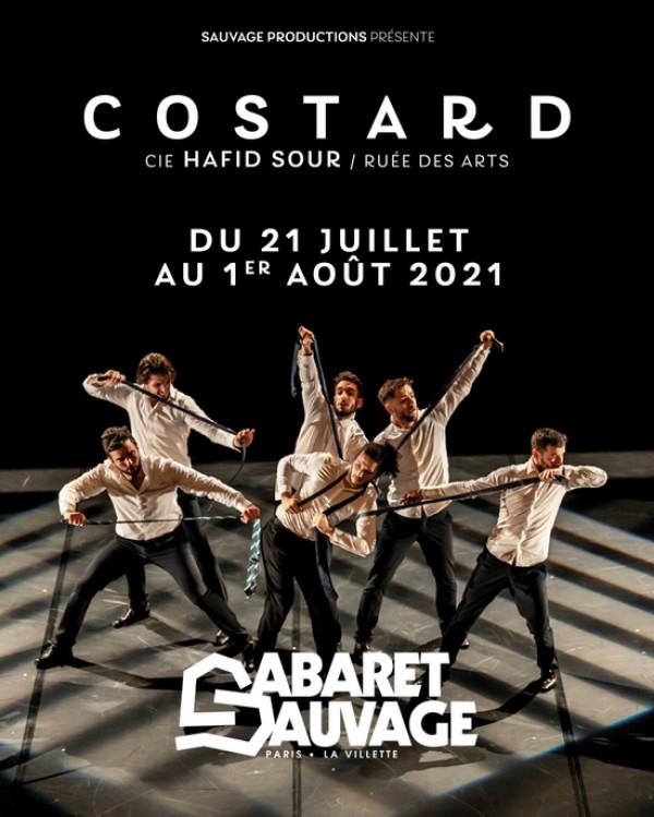 Affiche Cie Hafid Sour - Costard - Le Cabaret sauvage