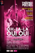 Affiche OH-LA-LA OUI OUI - Swing des années folles - Théâtre de Poche-Montparnasse