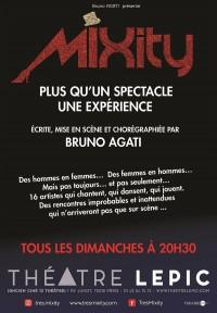 Affiche Mixity - Théâtre Lepic