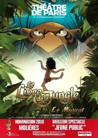 Affiche Le livre de la jungle - Théâtre de Paris
