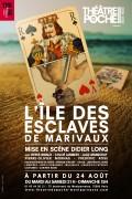 Affiche L'île des esclaves - Théâtre de Poche-Montparnasse