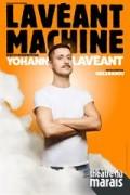 Affiche Yohann Lavéant - Lavéant Machine - Théâtre du Marais