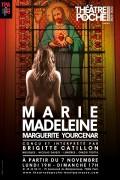 Affiche Marie-Madeleine - Théâtre de Poche-Montparnasse