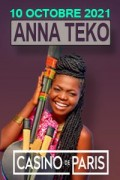 Anna Teko au Casino de Paris