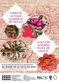 Fabienne Auzolle, Florilège de motifs au Musée de la Toile de Jouy