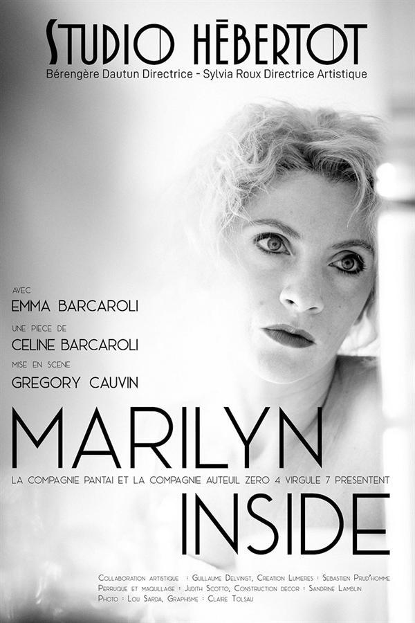 Affiche Marilyn inside - Studio Hébertot