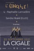 Raphaële Lannadère et Sandra Nkaké à la Cigale