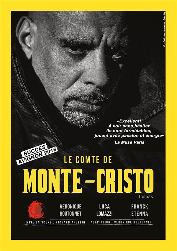 Affiche Le Comte de Monte-Cristo - Théâtre L'Essaïon