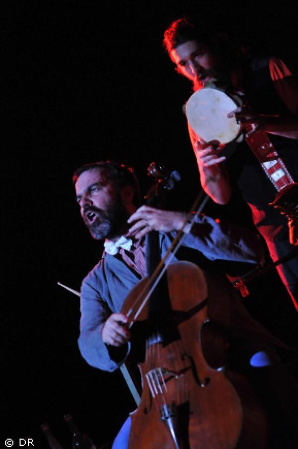 musiciens sur scène