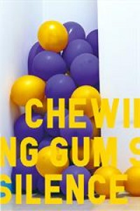 Affiche Chewing Gum Silence - Théâtre 71