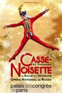 Affiche Le Ballet et l'Orchestre National de Russie - Casse-Noisette - Palais des Congrès de Paris