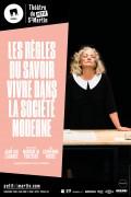 Affiche Les règles du savoir vivre dans la société moderne - Théâtre du Petit Saint-Martin