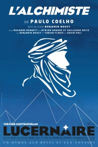 Affiche L'alchimiste - Théâtre du Lucernaire