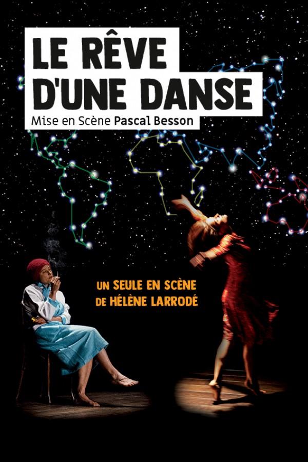Affiche Le rêve d'une danse - Théâtre L'Essaïon