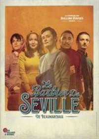 Affiche Le barbier de Séville - Le Funambule