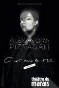 Affiche Alexandra Pizzagali : C'est dans la tête