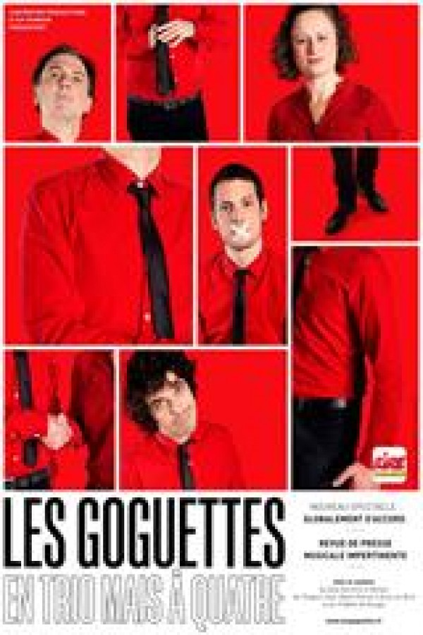 Affiche Goguettes en trio (mais à quatre) - Théâtre du Casino