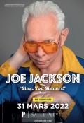 Joe Jackson salle Pleyel