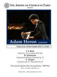 Adam Heron en concert