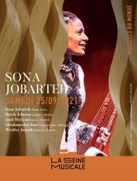 Sona Jobarteh en concert