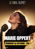 Marie Oppert au Bal Blomet