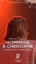 « Hommage à Christophe » à la Philharmonie
