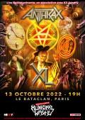 Anthrax au Bataclan