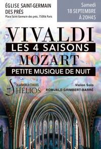 L'Orchestre Hélios et Romuald Grimbert-Barré en concert