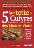 Le Quintette Des Quatre Vents en concert
