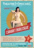 Affiche Le Cabaret burlesque - La Nouvelle Seine