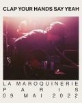 Clap Your Hands Say Yeah à la Maroquinerie