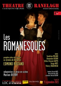 Affiche Les Romanesques - Théâtre Ranelagh