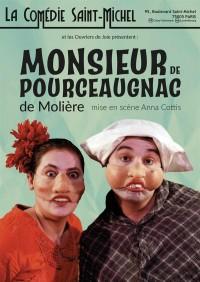 Affiche Monsieur de Pourceaugnac - Comédie Saint-Michel