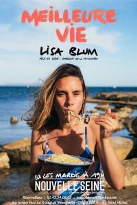 Affiche Lisa Blum - Meilleure vie - La Nouvelle Seine